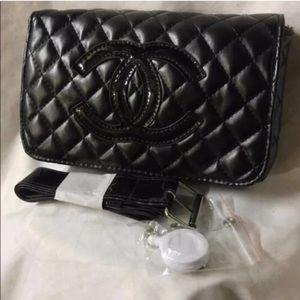 CHANEL Bags   Vip Gift Black Fanny Pack Waist Belt Bag   Poshmark 4f3f9ff680
